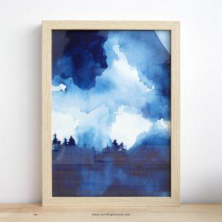 Aquarelle Paysage Watercolor Landscape